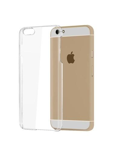 Microsonic Kristal Şefffaf iPhone  6 Plus (5.5) Kılıf Renkli